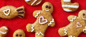 keto galletas de jengibre navidad
