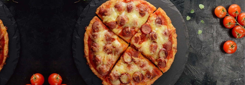 pizza keto harina de almendras