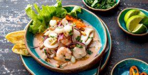 ceviche peruano comida keto