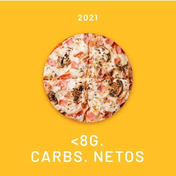 pizza baja en carbohidratos keto peru