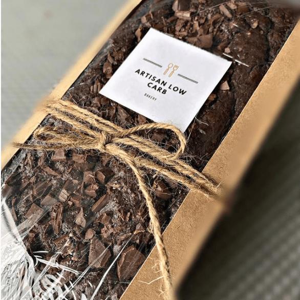 queque de chocolate keto peru