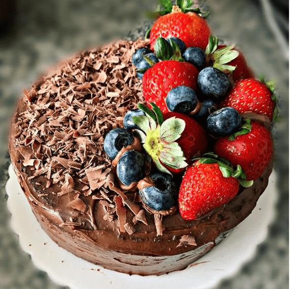 torta chocolate keto peru