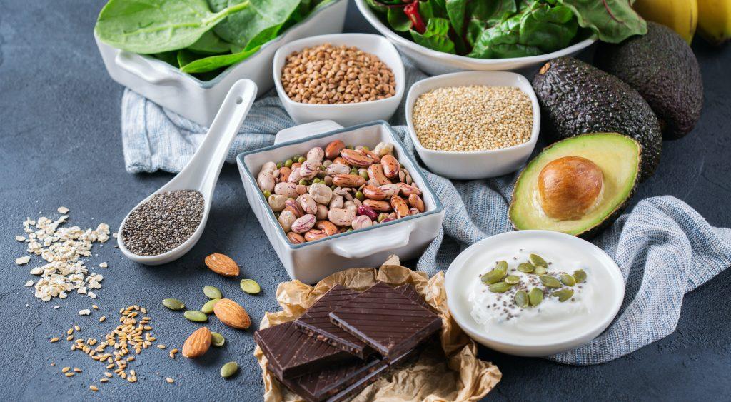 alimentos alto en magnesio para vegetarianos