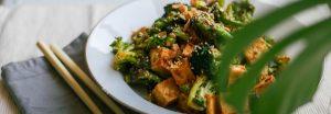 ejemplo plato keto vegetariano